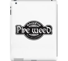 Baggins Pipe Weed iPad Case/Skin