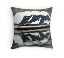 Canals Boat 3 Throw Pillow