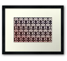 221B Baker Street Wallpaper Framed Print