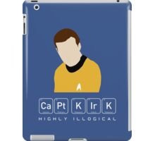 Highly Illogical Kirk iPad Case/Skin