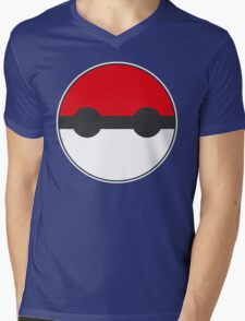 Pokemon Pokeball Baymax Inspired Mens V-Neck T-Shirt