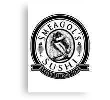 Smeagols Sushi - Fresh Precious Fish Canvas Print