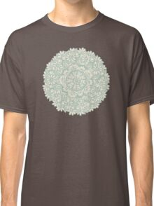 Sage Medallion with Butterflies & Daisy Chains Classic T-Shirt