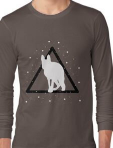 edited mammal in a triangle Long Sleeve T-Shirt