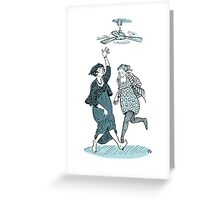 Shut Up and Dance Greeting Card