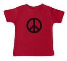Electric Peace Baby Tee