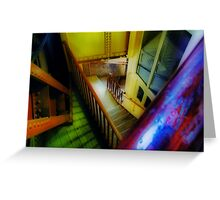 Coloured Angles Greeting Card