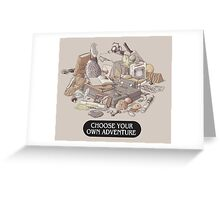 Choose your own Adventure Greeting Card