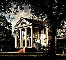 Faulkner's South - Old Greek Revival Mansion by Mark Tisdale
