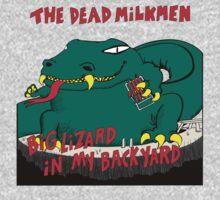 Dead Milkmen Big Lizard in My Backyard Kids Tee