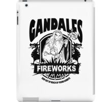 Gandalfs Fireworks - Keep Out Of Reach Of Young Hobbits iPad Case/Skin