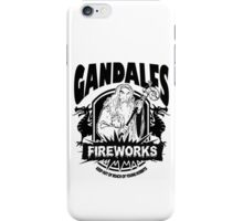 Gandalfs Fireworks - Keep Out Of Reach Of Young Hobbits iPhone Case/Skin