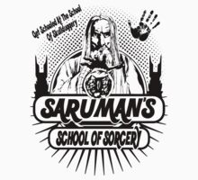 Sarumans School Of Sorcery by Iconic-Images