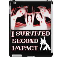 Second Impact Survivor iPad Case/Skin