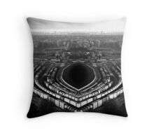 the industrial accident Throw Pillow