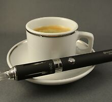 Coffee and Vaporizer by franceslewis