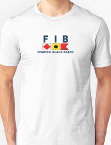 Fenwick Island - Delaware. Unisex T-Shirt