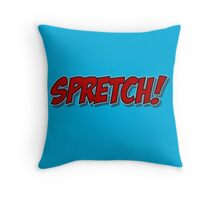 Red Spretch! Throw Pillow