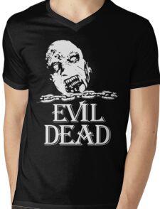 Vintage Evil Dead Mens V-Neck T-Shirt