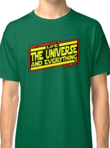Hitchhiker's Guide Strikes Back Classic T-Shirt