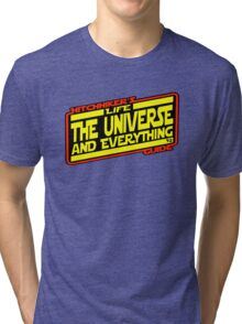 Hitchhiker's Guide Strikes Back Tri-blend T-Shirt