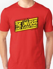 Hitchhiker's Guide Strikes Back T-Shirt