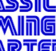 Classic Gaming Quarterly Schwag Sticker