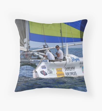 Slingshot Throw Pillow