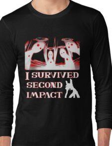 Second Impact Survivor Long Sleeve T-Shirt