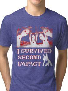 Second Impact Survivor Tri-blend T-Shirt