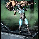 Cyberpunk Painting 050 by Ian Sokoliwski