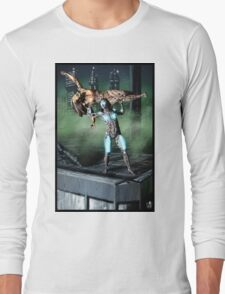 Cyberpunk Painting 050 Long Sleeve T-Shirt