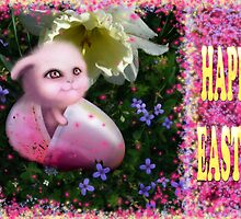 HAPPY EASTER CARD by DALE CRUM