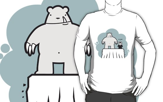 Eskimo v Pola Bear by jamesgalibarrow