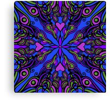 vibrant pattern Canvas Print