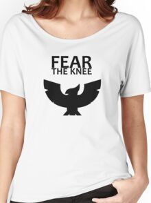 Smash Bros. - Fear The Knee Women's Relaxed Fit T-Shirt