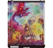 GARDEN OF THE LOST SHADOWS  / FLYING RED DRAGON iPad Case/Skin