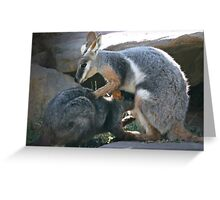 Tender Moment Greeting Card