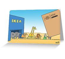 Ikea Ark Greeting Card