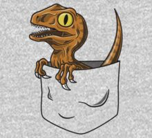 Pocket Raptor T-Shirt Kids Clothes