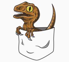 Pocket Raptor T-Shirt Kids Tee