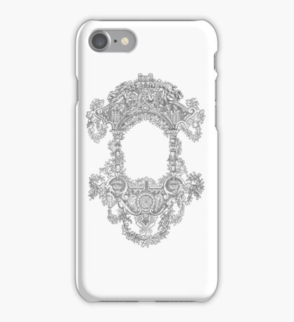 vintage design iPhone Case/Skin