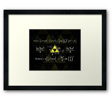 Tri-gonometry Framed Print