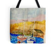 Quiet Bay Tote Bag