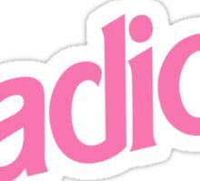 Radical Sticker