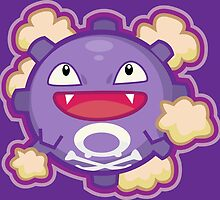 Koffing by Eat Sleep Poke Repeat