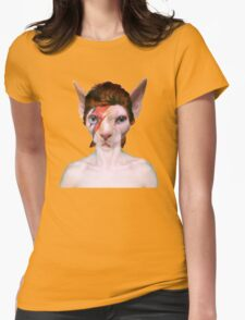 Aladdin Sphynx Womens Fitted T-Shirt