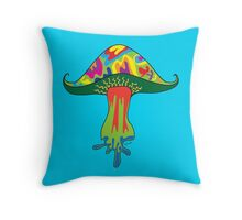 Shroom One Throw Pillow