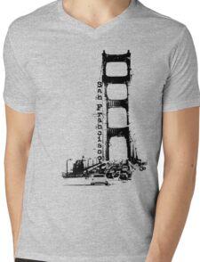 L e f t M y H e a r t . . . Mens V-Neck T-Shirt