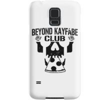 Beyond Kayfabe Podcast - BK CLUB Black Samsung Galaxy Case/Skin